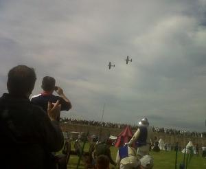 SpitfireOverFortGeorge