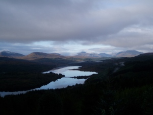 Loch Garry Viewpoint
